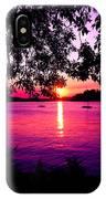 Sunset From Point Fosdick Gig Harbor Washington IPhone Case
