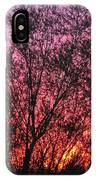 Sunset In April- Silute Lithuania IPhone Case