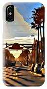 Sunset In Daytona Beach IPhone Case