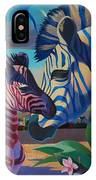 Sunset In Ngoro Ngoro IPhone Case