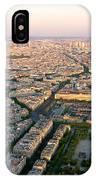 Sunset In Paris IPhone Case