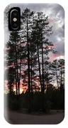 Sunset In The Pines IPhone Case