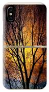 Sunset Into The Night Window View 3 IPhone Case