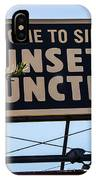 Sunset Junction IPhone Case