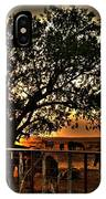 Sunset On A Texas Drought IPhone Case