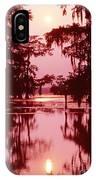 Sunset On The Bayou Atchafalaya Basin Louisiana IPhone Case