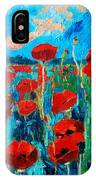 Sunset Poppies IPhone Case