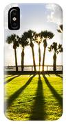 Sunset Sentinels IPhone Case