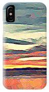 Davis Bay Sunset  IPhone Case