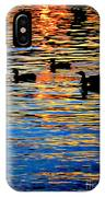 Sunset Swim IPhone Case