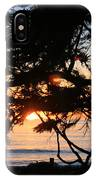 Sunset Through The Cypress Trees Cambria IPhone Case