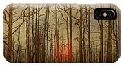 Sunset Thru The Pine Barrens IPhone Case
