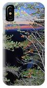 Sunset Thru The Pines IPhone Case