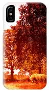 Sunset Trees IPhone Case