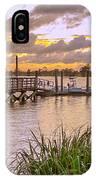Sunset View Boardwalk IPhone Case