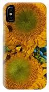 Sunshine And Turquoise  IPhone Case