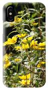 Sunshine Flower 3 IPhone Case