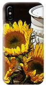 Sunshine From The Garden IPhone Case