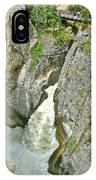 Sunwapta Falls Along  Icefields Parkway In Alberta IPhone Case