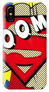 Superman Boom  IPhone Case