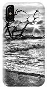 Surf At Driftwood Beach IPhone Case