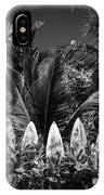 Surf Board Fence Maui Hawaii Black And White IPhone X Case