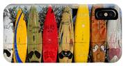 Surf Board Fence Maui Hawaii IPhone X Case