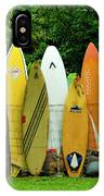Surfboard Fence Maui IPhone Case