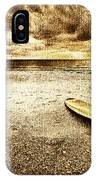 Surfboard On The Beach 2 IPhone Case