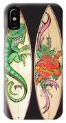 Surfboards Art Jungle IPhone Case