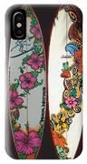 Surfboards Art Jungle2 IPhone Case