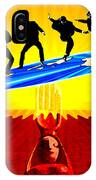 Surfing For Peace IPhone Case