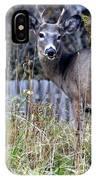Surprised Deer IPhone Case