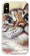 Surprised Kitty IPhone Case