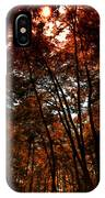 Surrounded By Autumn IPhone Case