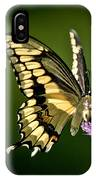 Swallowtail And Friends IPhone Case