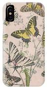 Swallowtail Butterflies - Papilionidae IPhone Case
