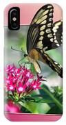 Swallowtail Butterfly 02 IPhone Case