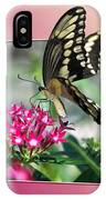 Swallowtail Butterfly 03 IPhone Case