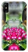 Swallowtail Butterfly Digital Art IPhone Case
