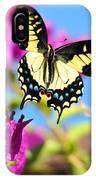 Swallowtail In Flight IPhone Case