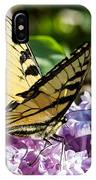 Swallowtail On Lilac IPhone Case