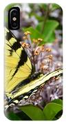 Swallowtail On Lilacs IPhone Case