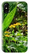 Swamp Bouquet IPhone Case