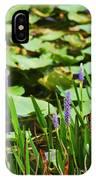 Swamp Flowers  IPhone Case