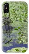 Swamp Gator IPhone Case
