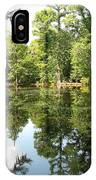 Swampland Reflection At The Plantation IPhone Case