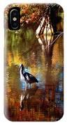 Swan Lake Heron II IPhone Case