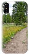 Swan Lake Trail In Grand Teton National Park-wyoming IPhone Case