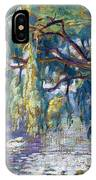 Swans Family . Forest Of Boulogne  IPhone Case